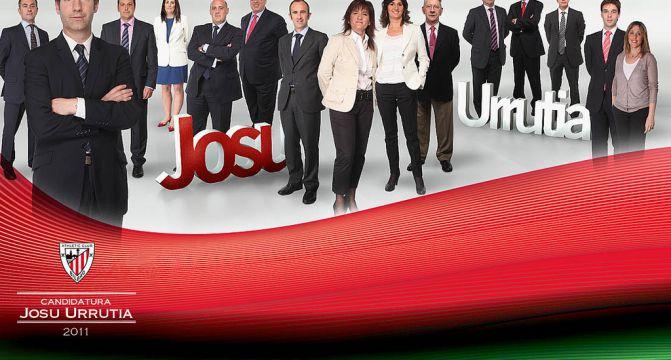 Josu Urrutia Candidacy